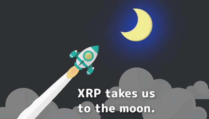 XRP takes us to the moon